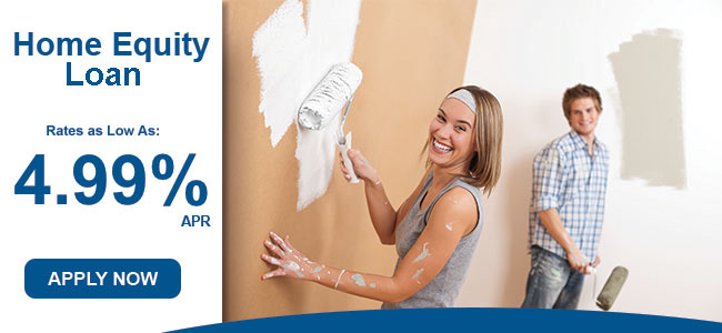 Home Equity Loan - Rates as low as 4.99% APR. Apply Now